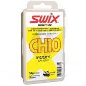 Парафин Swix CH10X Yellow 0C/+10C, 60 гр