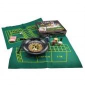 Набор игр Казино 5 в 1 (рулетка, кости, покер, блэк джэк, крепс)