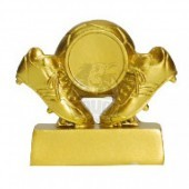 Кубок сувенирный Бутсы HX1673-5 (золото)