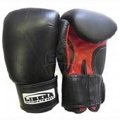 Перчатки боксерские Libera ПУ (черный)