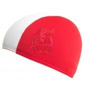 Шапочка для плавания Fashy Shot Shape (красный/белый)