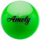 Мяч для художественной гимнастики Amely 150 мм (зеленый)