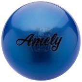 Мяч для художественной гимнастики Amely 190 мм (синий)