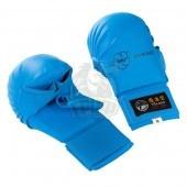 Накладки каратэ с пальцем Tokaido WKF (синий)