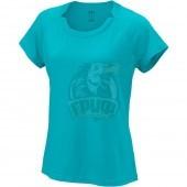 Майка спортивная женская Wilson Condition Tee Women (голубой)