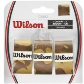 Обмотка для теннисной ракетки Wilson Camo Overgrip (коричневый)