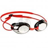 Очки для плавания тренировочные Mad Wave Honey Mirror (красный)