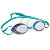 Очки для плавания тренировочные Mad Wave Spurt Rainbow (синий)