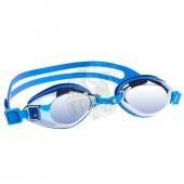 Очки для плавания тренировочные Mad Wave Predator Mirror (синий)
