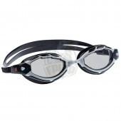 Очки для плавания тренировочные Mad Wave Shark (черный)