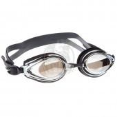 Очки для плавания тренировочные Mad Wave Techno Mirror II (черный)
