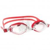 Очки для плавания тренировочные Mad Wave Predator Mirror (красный)