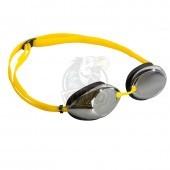 Очки для плавания тренировочные Mad Wave Lane4 Mirror (желтый)