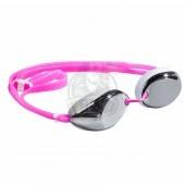 Очки для плавания тренировочные Mad Wave Lane4 Mirror (розовый)