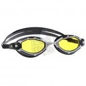 Очки для плавания тренировочные Mad Wave Shark (желтый)