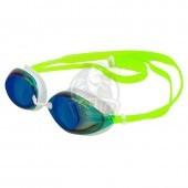 Очки для плавания тренировочные Mad Wave Lane4 Rainbow (зеленый)