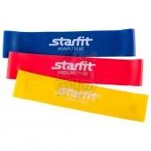 Набор эспандеров из 3-х резиновых петель Starfit