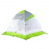 Палатка зимняя Лотос 2 (салатовый/белый/серый)