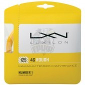Струна теннисная Luxilon 4G Rough 1.25/12.2 м (золотой)