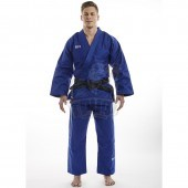 Кимоно дзюдо Ippon Gear Basic Blue (60% хлопок, 40% полиэстер)