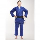 Куртка дзюдо Ippon Gear Fighter Slim Fit Blue (75% хлопок, 25% полиэстер)