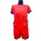Форма футбольная детская (красный/синий)