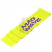 Эспандер-лента Mad Wave Stretch Band (желтый)