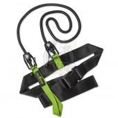 Тренажер гребной Mad Wave Short Belt 10.8 kg (зеленый)