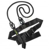 Тренажер гребной Mad Wave Short Belt 20.4 kg (черный)