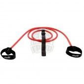 Эспандер силовой резиновая трубка с ручками Starfit 5 кг (красный)