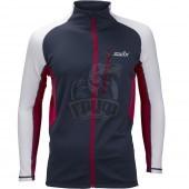Куртка лыжная мужская Swix Dymanic (синий/красный/белый)