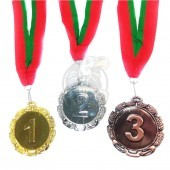Медаль 6.0 см (серебро)