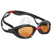 Очки для плавания на открытой воде поляризационные Mad Wave Triathlon Polarize (черный)