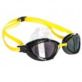 Очки для плавания на открытой воде Mad Wave Triathlon Rainbow (желтый)