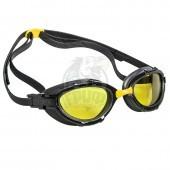 Очки для плавания на открытой воде Mad Wave Triathlon Mirror (желтый)