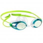 Очки для плавания тренировочные Mad Wave Honey Rainbow (голубой)