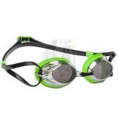 Очки для плавания тренировочные Mad Wave Spurt Mirror (зеленый)