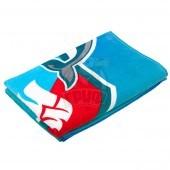 Полотенце махровое Mad Wave Challenge (синий/красный)