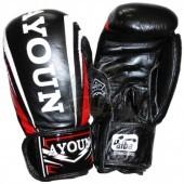 Перчатки боксерские Ayoun кожа (черный)
