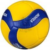 Мяч волейбольный профессиональный Mikasa V300W