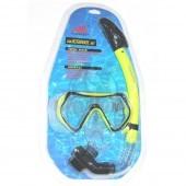 Набор для плавания взрослый (маска + трубка)