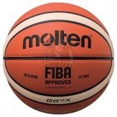 Мяч баскетбольный профессиональный Molten BGG7X-X FIBA Indoor №7