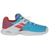 Кроссовки теннисные детские Babolat Propulse AC Jr (голубой)