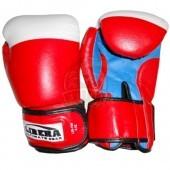 Перчатки боксерские Libera ПУ (красный)