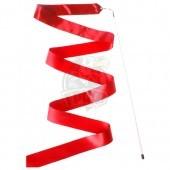 Лента гимнастическая Effea 6 м (красный)