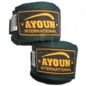 Бинт боксерский Ayoun 3,0 м (зеленый)