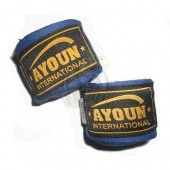 Бинт боксерский Ayoun 3,0 м (синий)