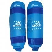 Защита голени для единоборств Ayoun (синий)