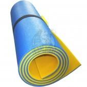 Коврик двухслойный Экофлекс 8 мм (синий/желтый)