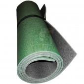 Коврик двухслойный Экофлекс 12 мм (зеленый/антрацит)